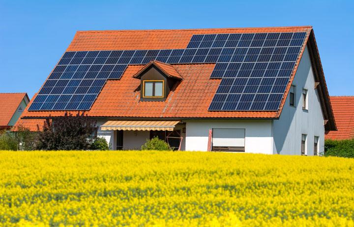 photovoltaik haus