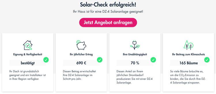 DZ-4 Solarcheck